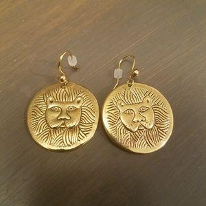 Laurel Burch Lion Earrings